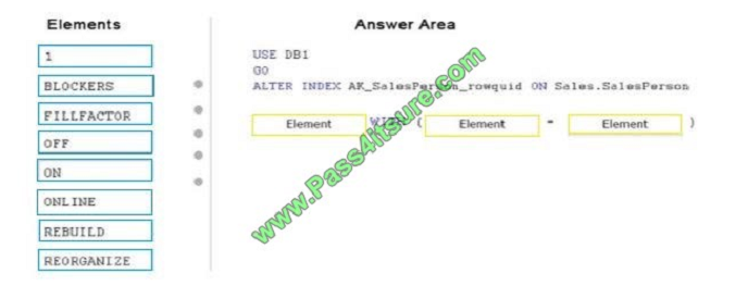 pass4itsure 70-764 exam question q10