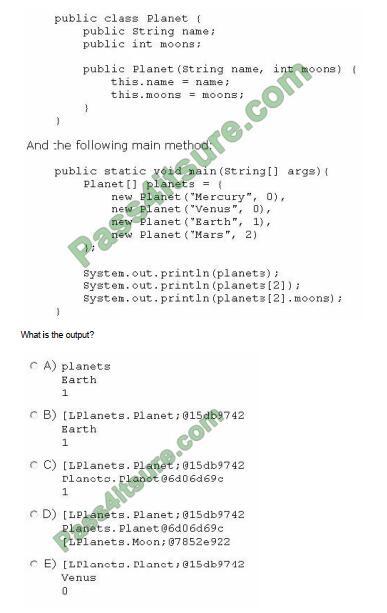 1z0-808 exam questions-q6
